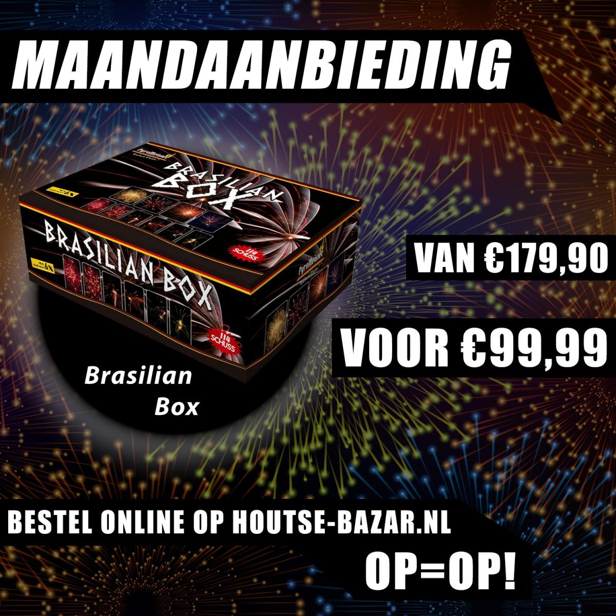 Naam: Maandaanbieding - 01 - Augustus - Brasilian Box.jpg Bekeken: 448 Grootte: 503,9 KB